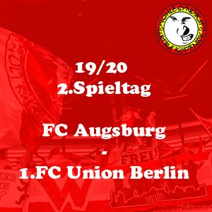 Saison 19/20 02 augsburg